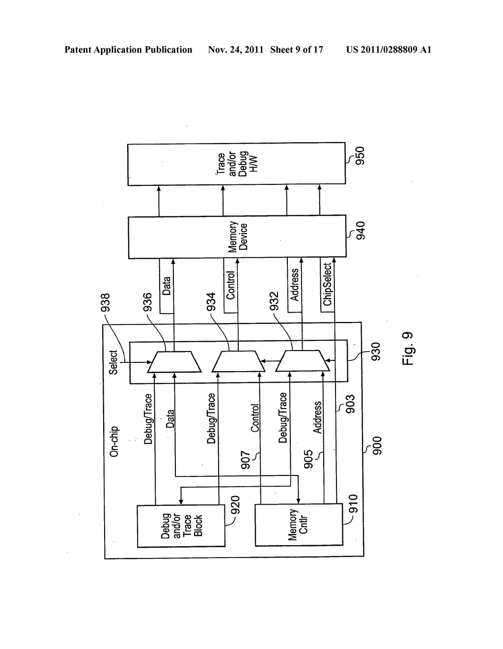 Communication of a diagnostic signal and a functional signal by an     integrated circuit - diagram, schematic, and image 10