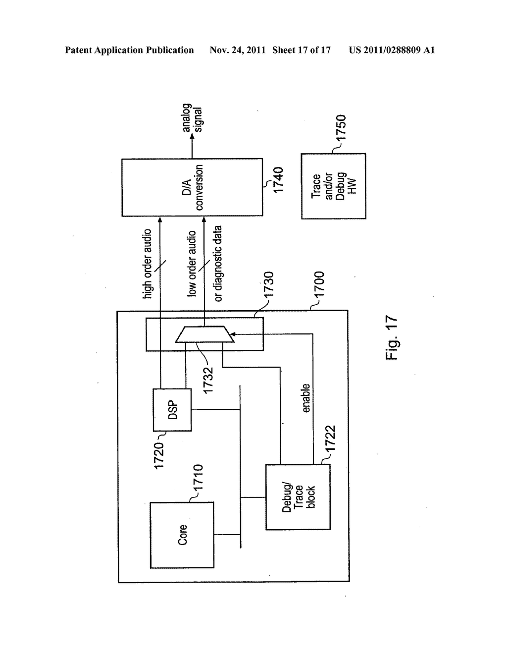 Communication of a diagnostic signal and a functional signal by an     integrated circuit - diagram, schematic, and image 18