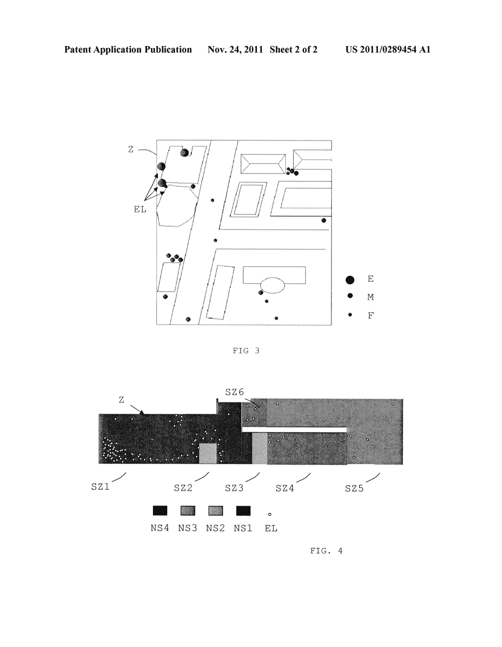 METHOD AND DEVICE FOR RECORDING DATA REPRESENTING FEELINGS FELT BY PERSONS     IN POSITIONABLE LOCATIONS, AND ASSOCIATED SERVER - diagram, schematic, and image 03
