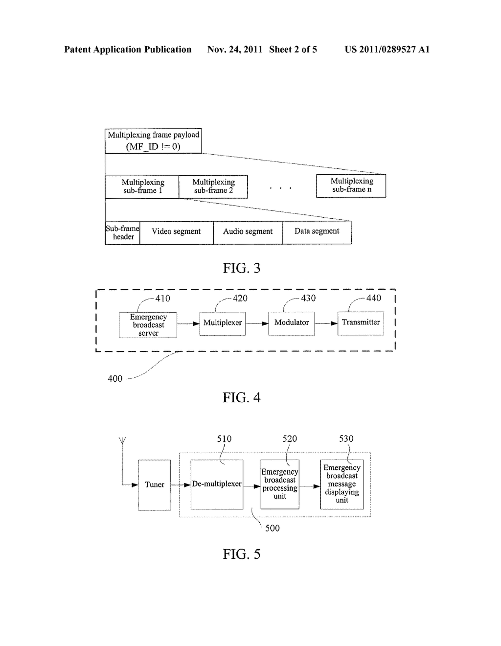 TRANSMISSION METHOD AND DEVICE OF EMERGENT BROADCASTING - diagram, schematic, and image 03