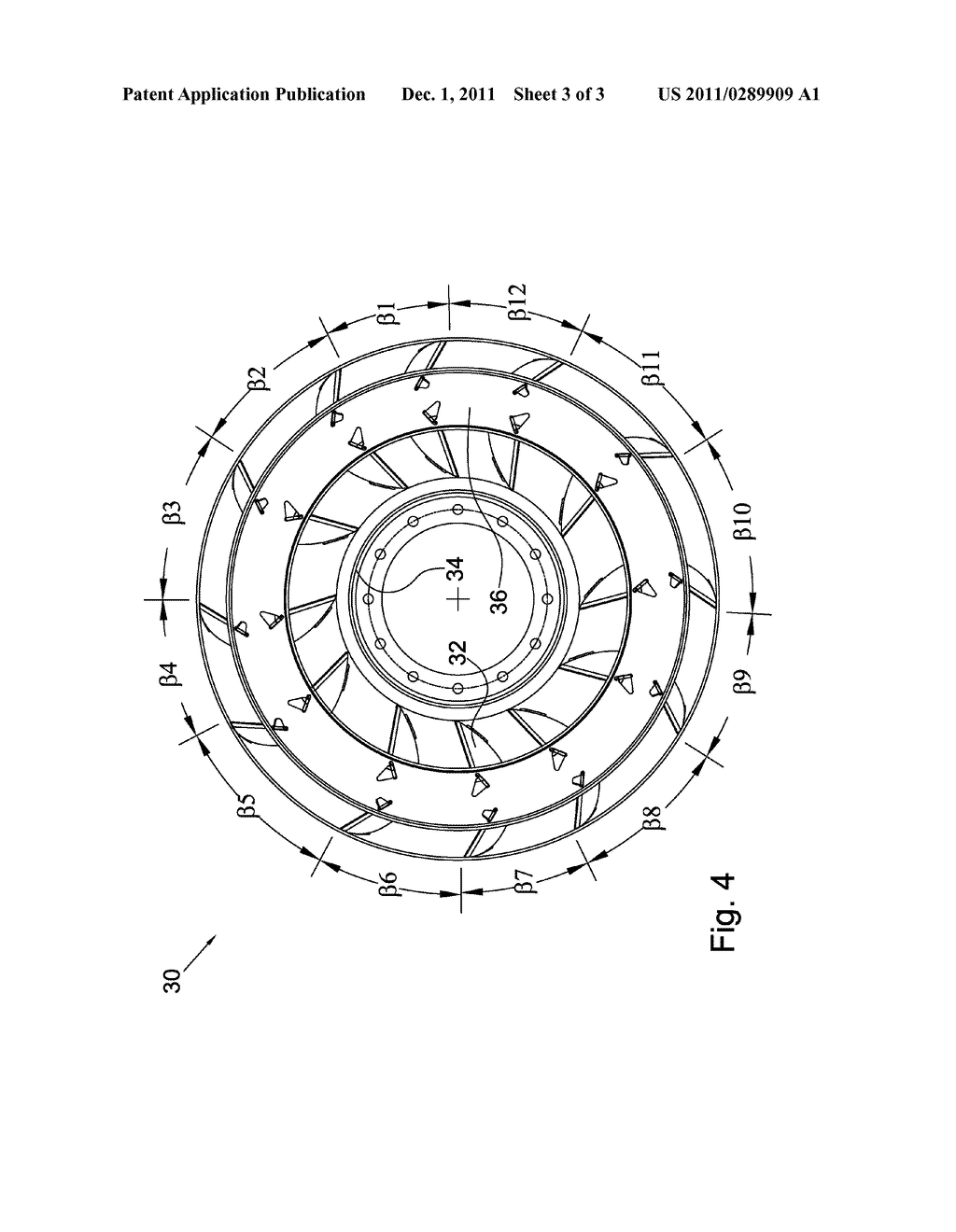 TORQUE CONVERTER WITH ASYMMETRIC BLADE SPACING - diagram, schematic, and image 04