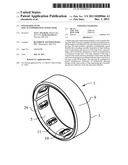 FINGER RING WITH SIZE-ACCOMMODATING INNER LINER diagram and image