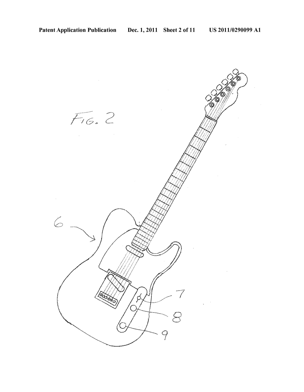 Intuitive Electric Guitar Switching For Selecting Sounds Of Popular Strings Diagram Guitars Schematic And Image 03