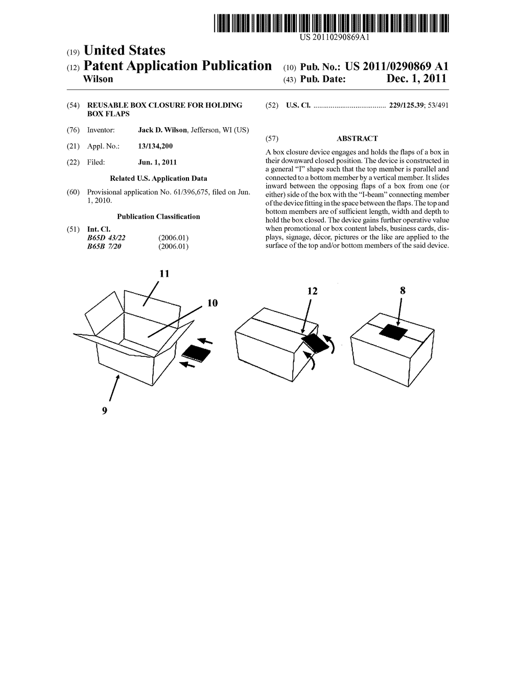 Reusable Box Closure For Holding Flaps Diagram Schematic And Circuit Of Zener Diode Image 01