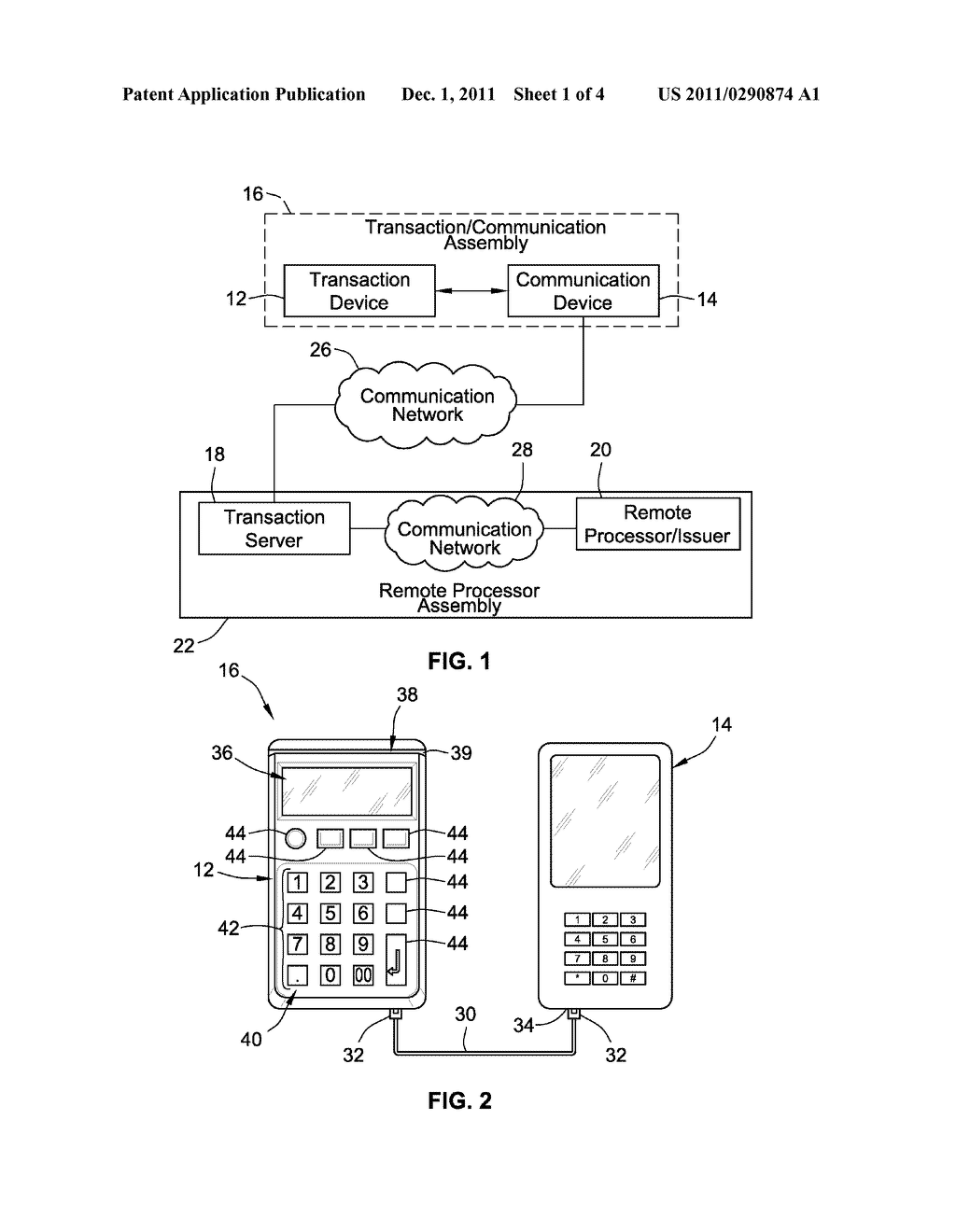 APPARATUS AND METHOD FOR COMMERCIAL TRANSACTIONS USING A COMMUNICATION     DEVICE - diagram, schematic, and image 02