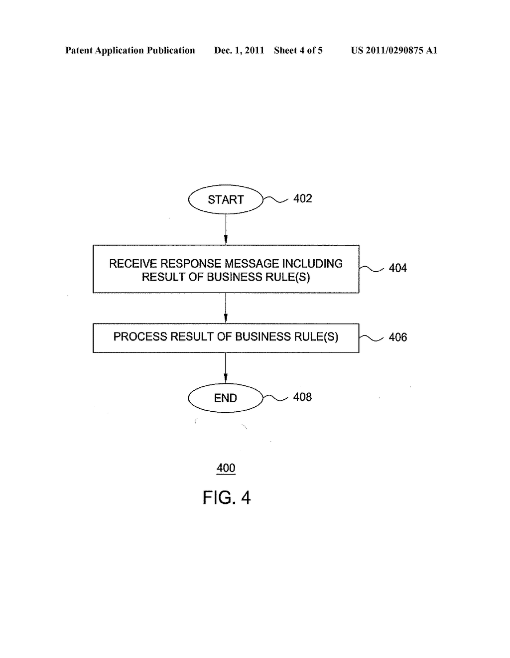 METHOD AND APPARATUS FOR USING BOARDING PASSES TO APPLY BUSINESS RULES - diagram, schematic, and image 05