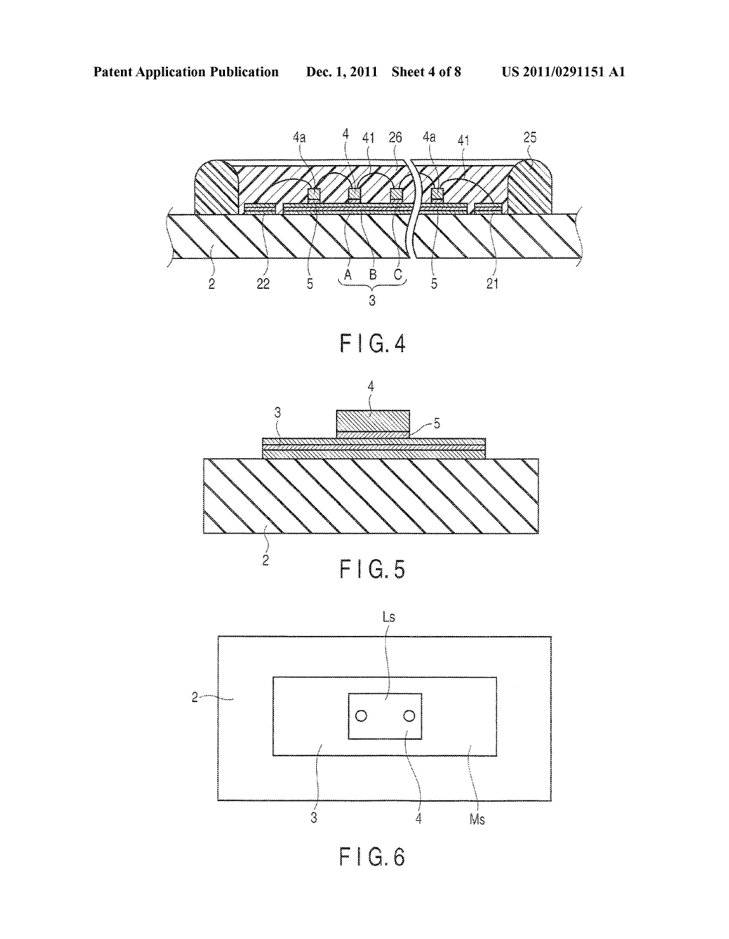 LIGHT EMITTING DEVICE AND LIGHTING APPARATUS - diagram, schematic, and image 05