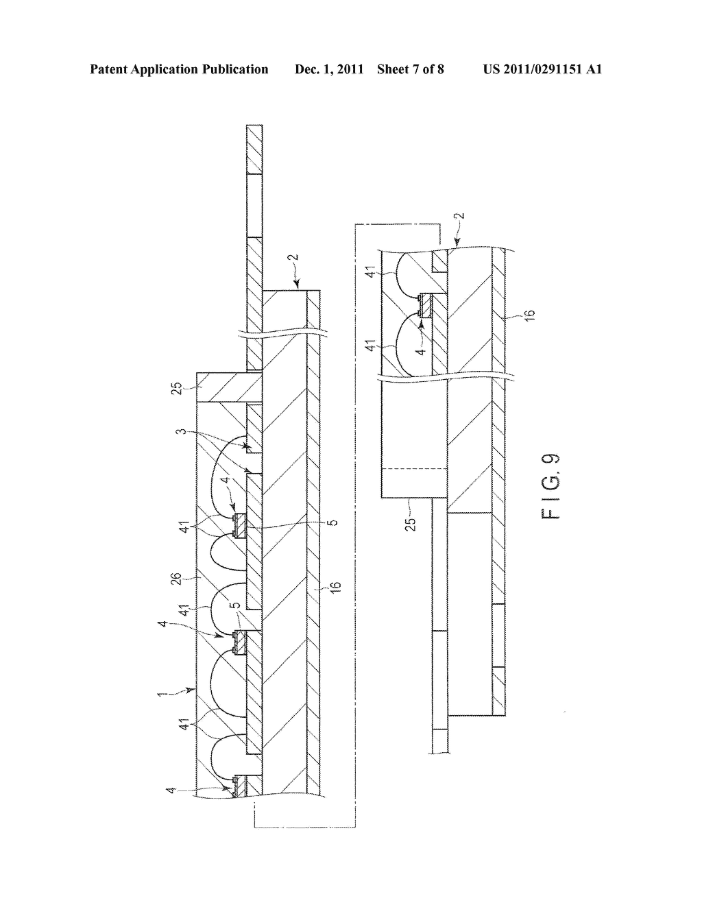 LIGHT EMITTING DEVICE AND LIGHTING APPARATUS - diagram, schematic, and image 08