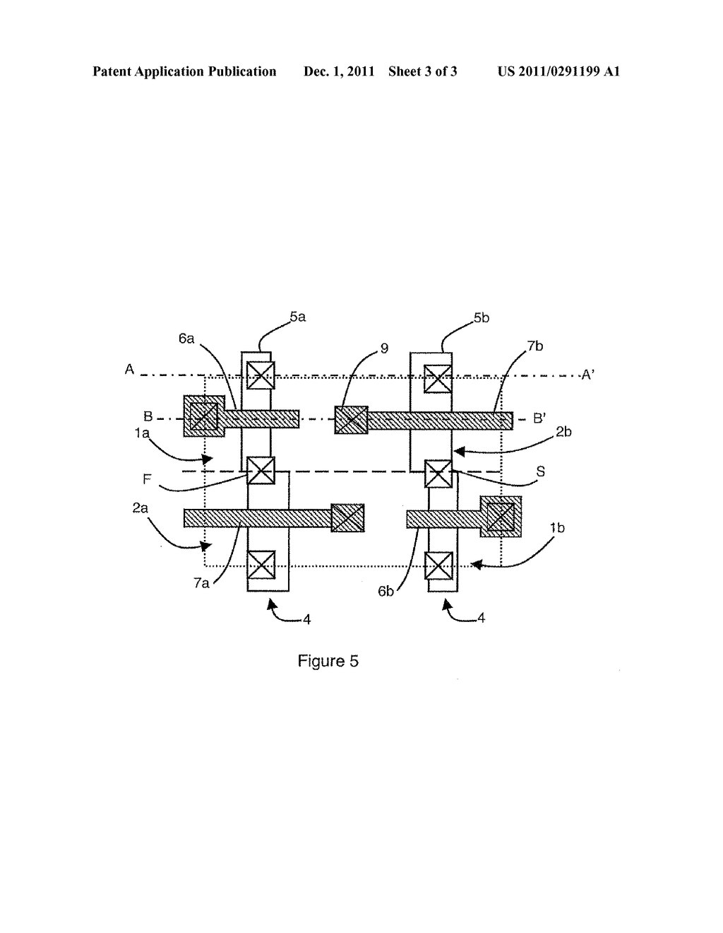 SRAM MEMORY CELL WITH FOUR TRANSISTORS PROVIDED WITH A COUNTER-ELECTRODE - diagram, schematic, and image 04