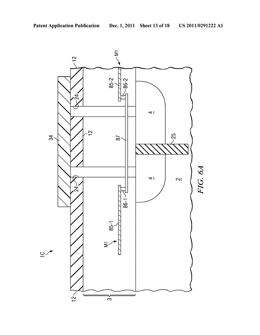 SILICON DIOXIDE CANTILEVER SUPPORT AND METHOD FOR SILICON ETCHED     STRUCTURES - diagram, schematic, and image 14