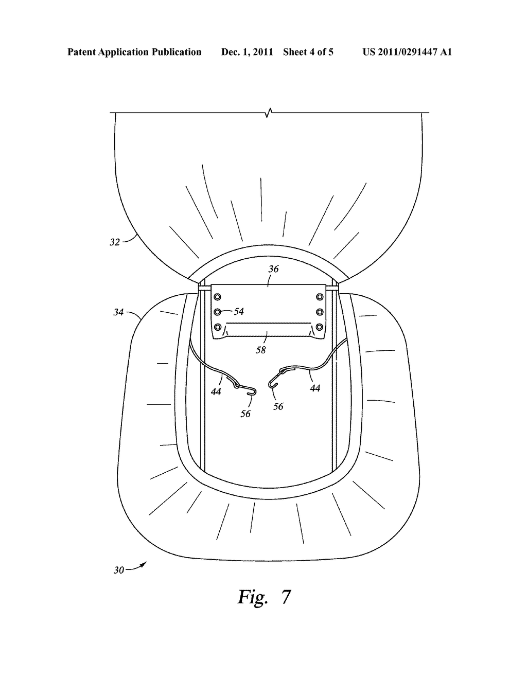 Vehicle Seat Cover - diagram, schematic, and image 05