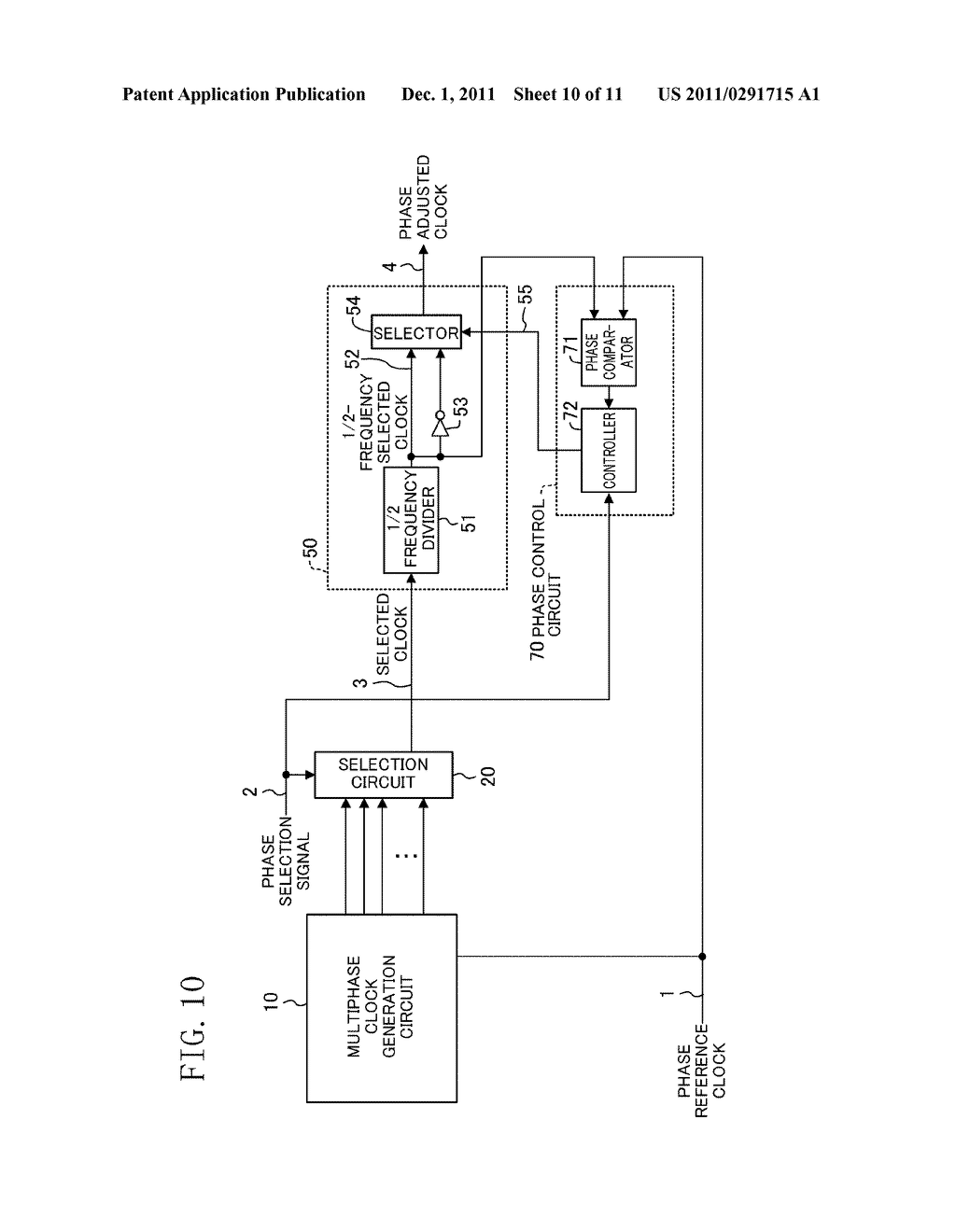 PHASE ADJUSTMENT CIRCUIT - diagram, schematic, and image 11