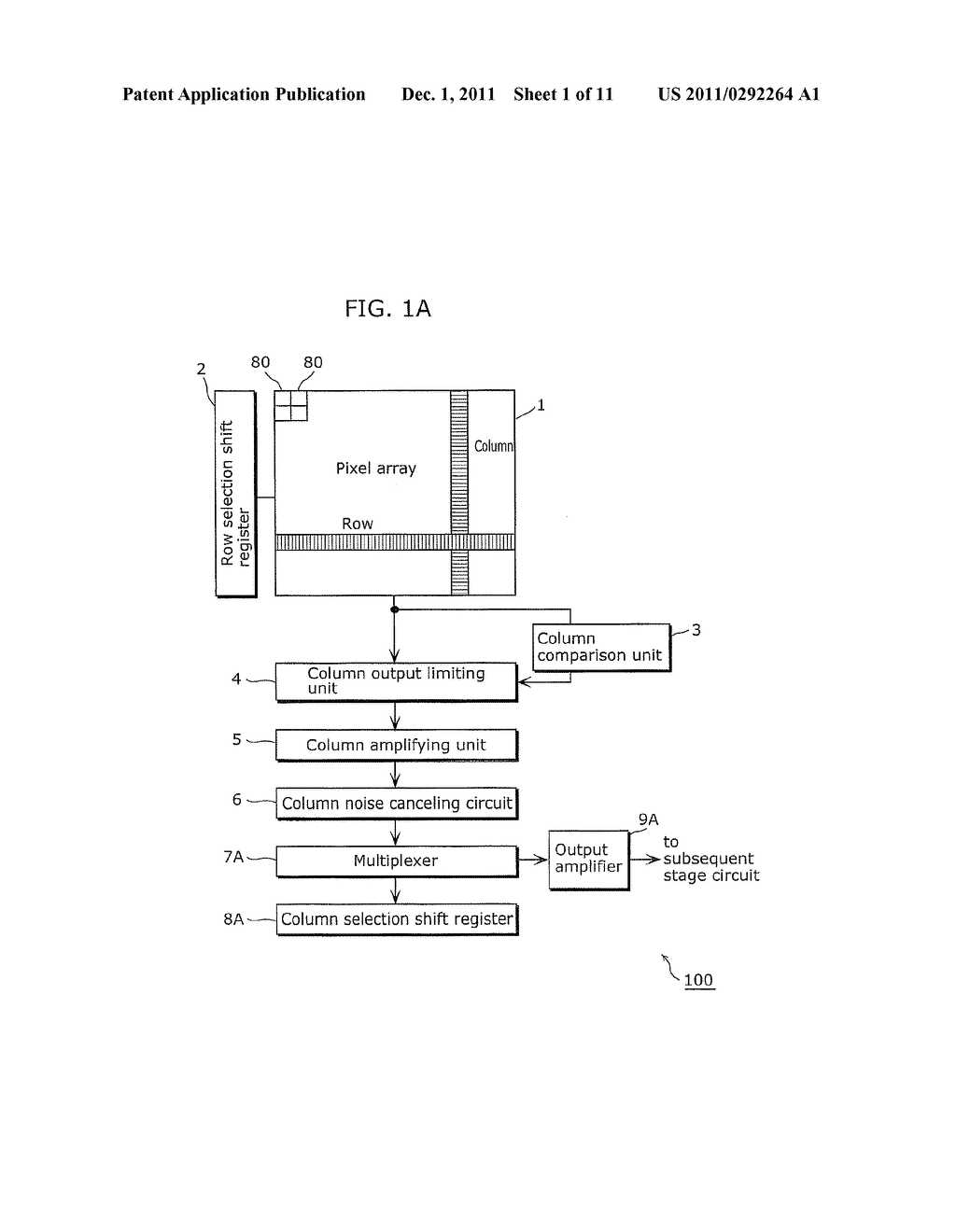 SOLID-STATE IMAGING DEVICE AND IMAGING APPARATUS INCLUDING THE SAME - diagram, schematic, and image 02