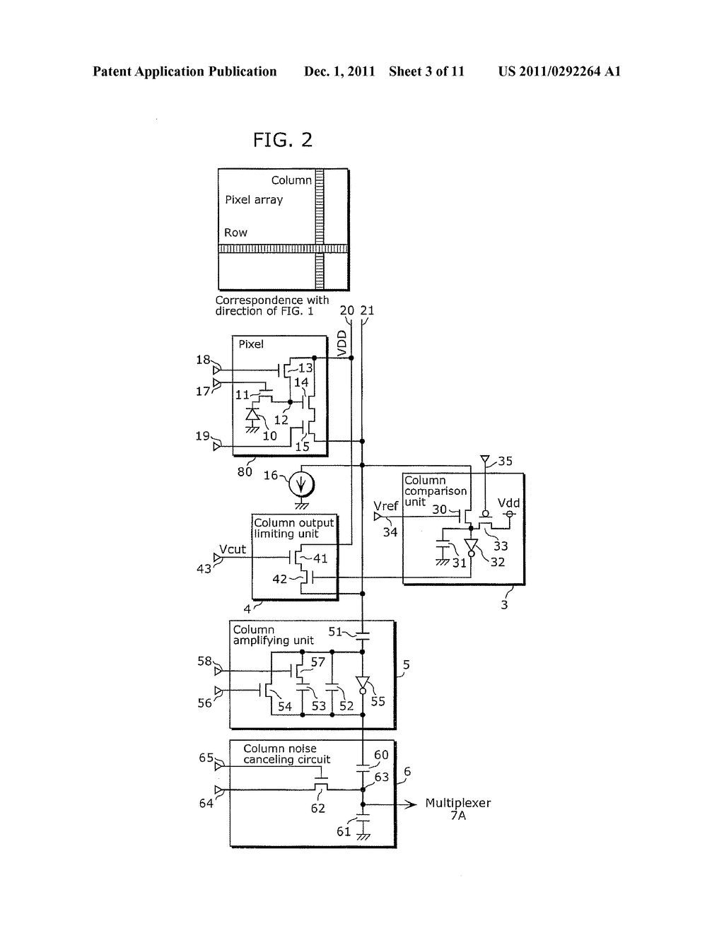 SOLID-STATE IMAGING DEVICE AND IMAGING APPARATUS INCLUDING THE SAME - diagram, schematic, and image 04