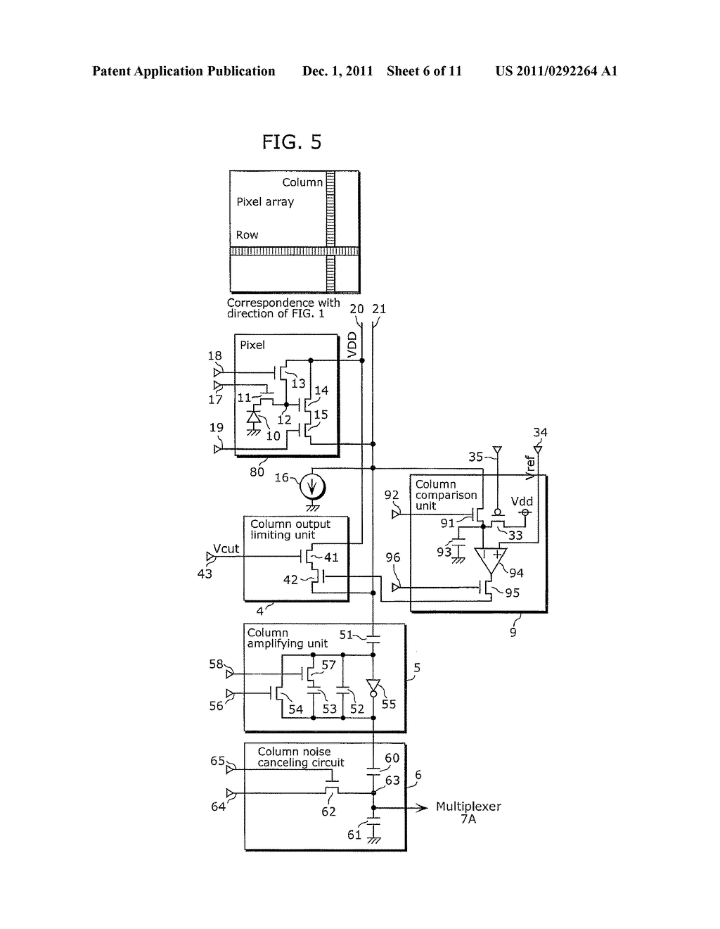 SOLID-STATE IMAGING DEVICE AND IMAGING APPARATUS INCLUDING THE SAME - diagram, schematic, and image 07