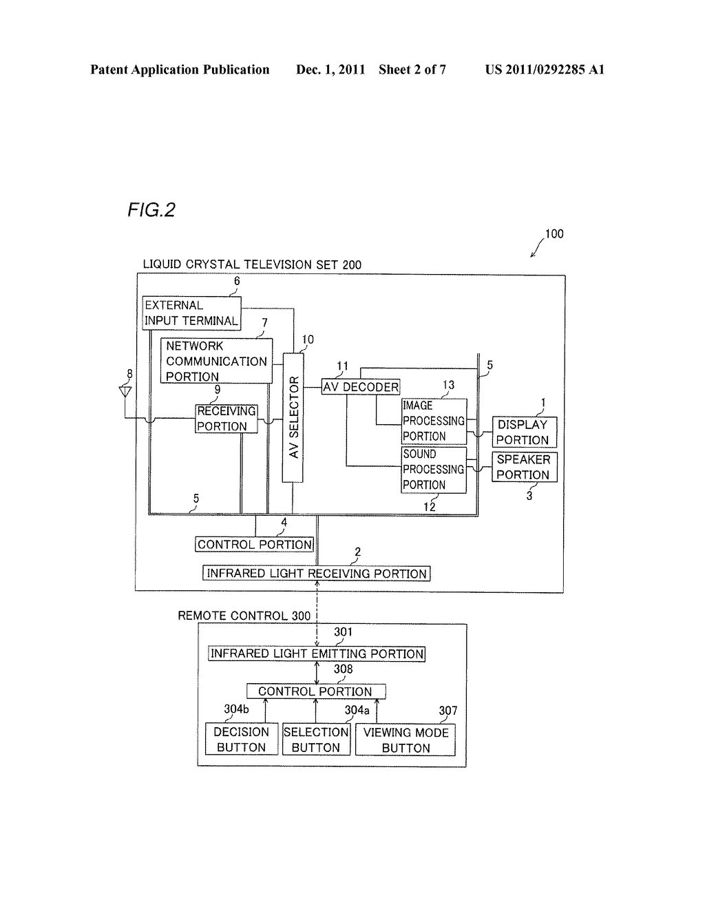 Image Receiving Apparatus and Liquid Crystal Television Set - diagram, schematic, and image 03