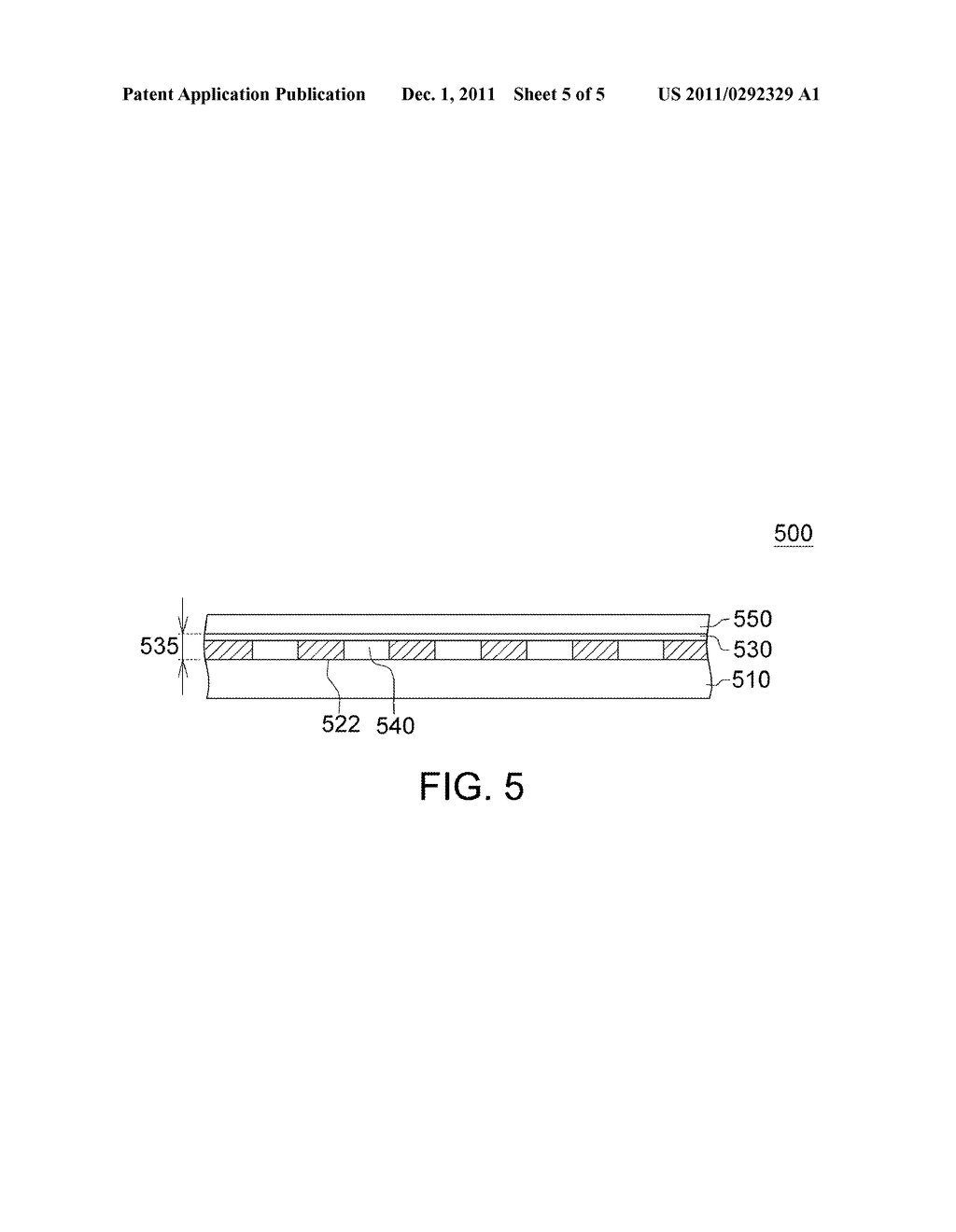 Patterned Retarder Film and Method for Manufacturing - diagram, schematic, and image 06