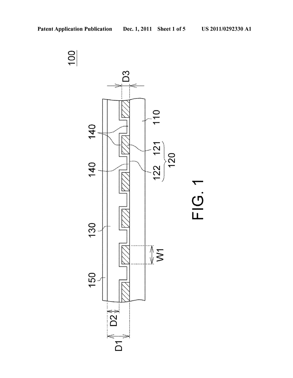 Patterned Retarder Film and Method for Manufacturing the Same - diagram, schematic, and image 02