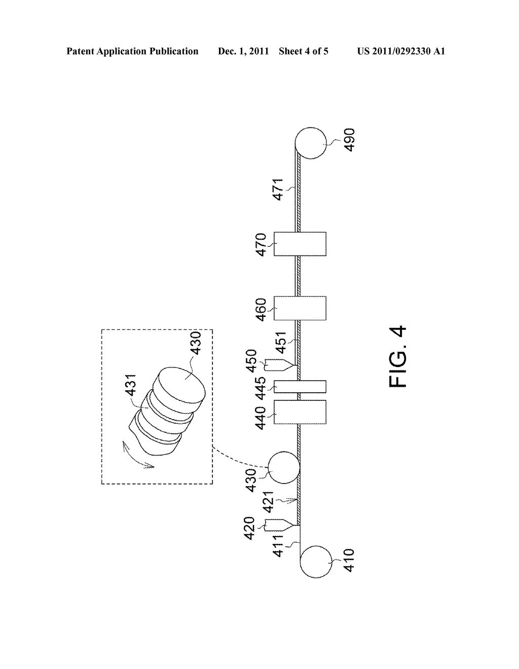 Patterned Retarder Film and Method for Manufacturing the Same - diagram, schematic, and image 05