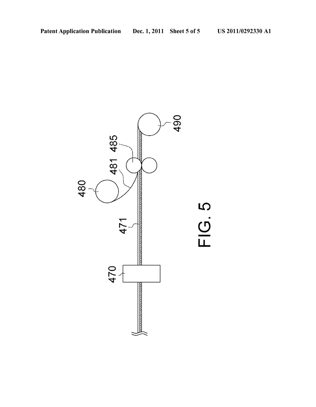 Patterned Retarder Film and Method for Manufacturing the Same - diagram, schematic, and image 06