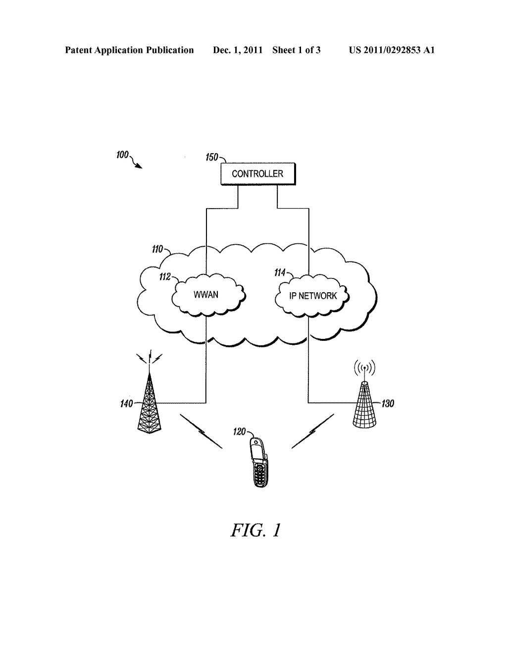 METHOD AND DEVICE FOR REDUCING POWER DRAIN WHILE CAMPED ON A WIRELESS     LOCAL AREA NETWORK - diagram, schematic, and image 02