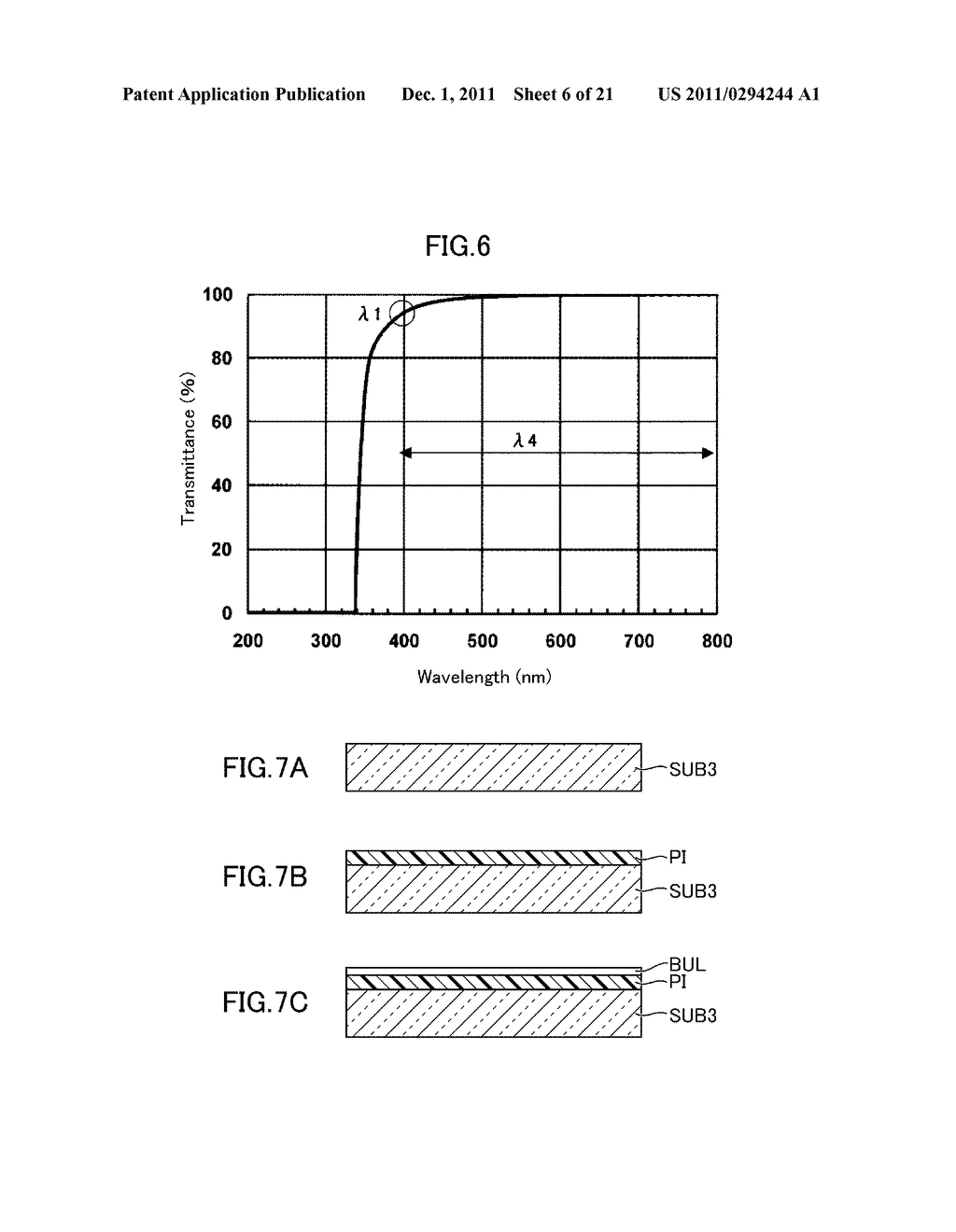 METHOD FOR MANUFACTURING DISPLAY DEVICE - diagram, schematic, and image 07