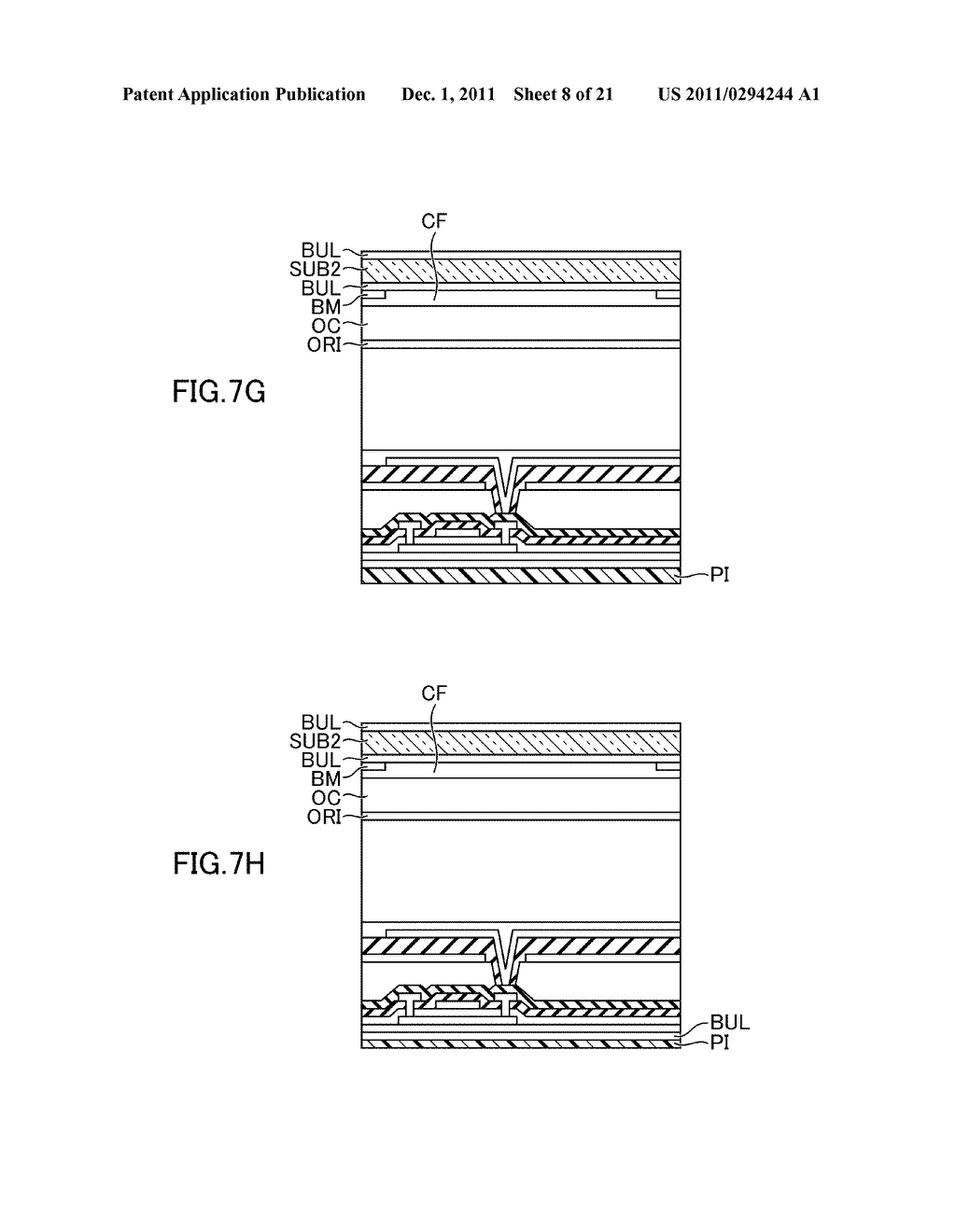 METHOD FOR MANUFACTURING DISPLAY DEVICE - diagram, schematic, and image 09