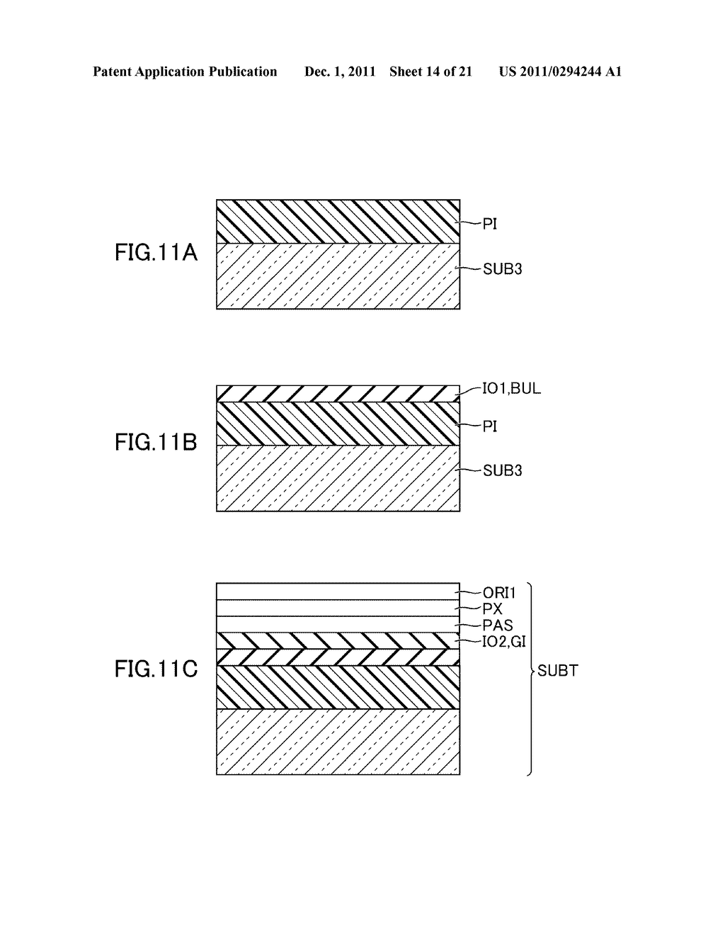 METHOD FOR MANUFACTURING DISPLAY DEVICE - diagram, schematic, and image 15