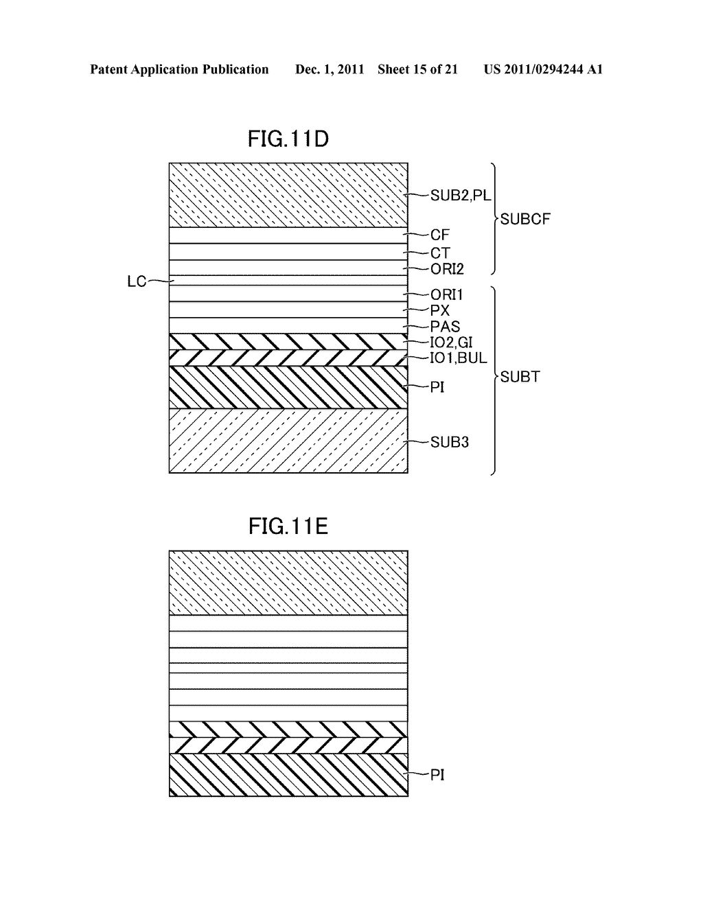 METHOD FOR MANUFACTURING DISPLAY DEVICE - diagram, schematic, and image 16