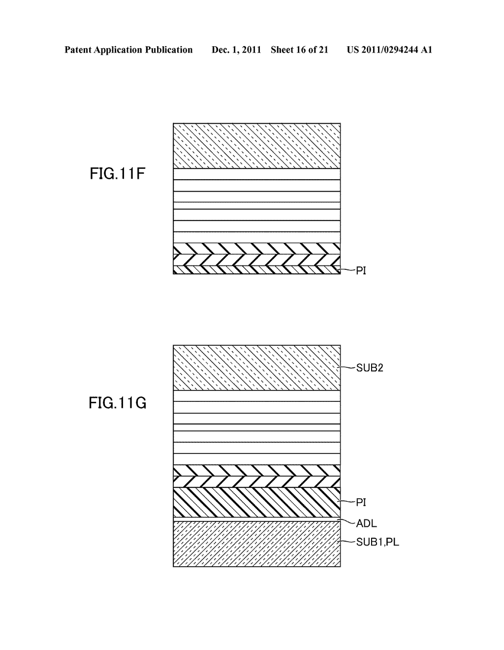 METHOD FOR MANUFACTURING DISPLAY DEVICE - diagram, schematic, and image 17