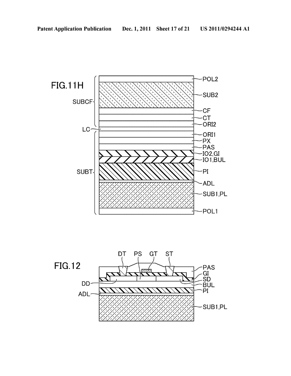 METHOD FOR MANUFACTURING DISPLAY DEVICE - diagram, schematic, and image 18
