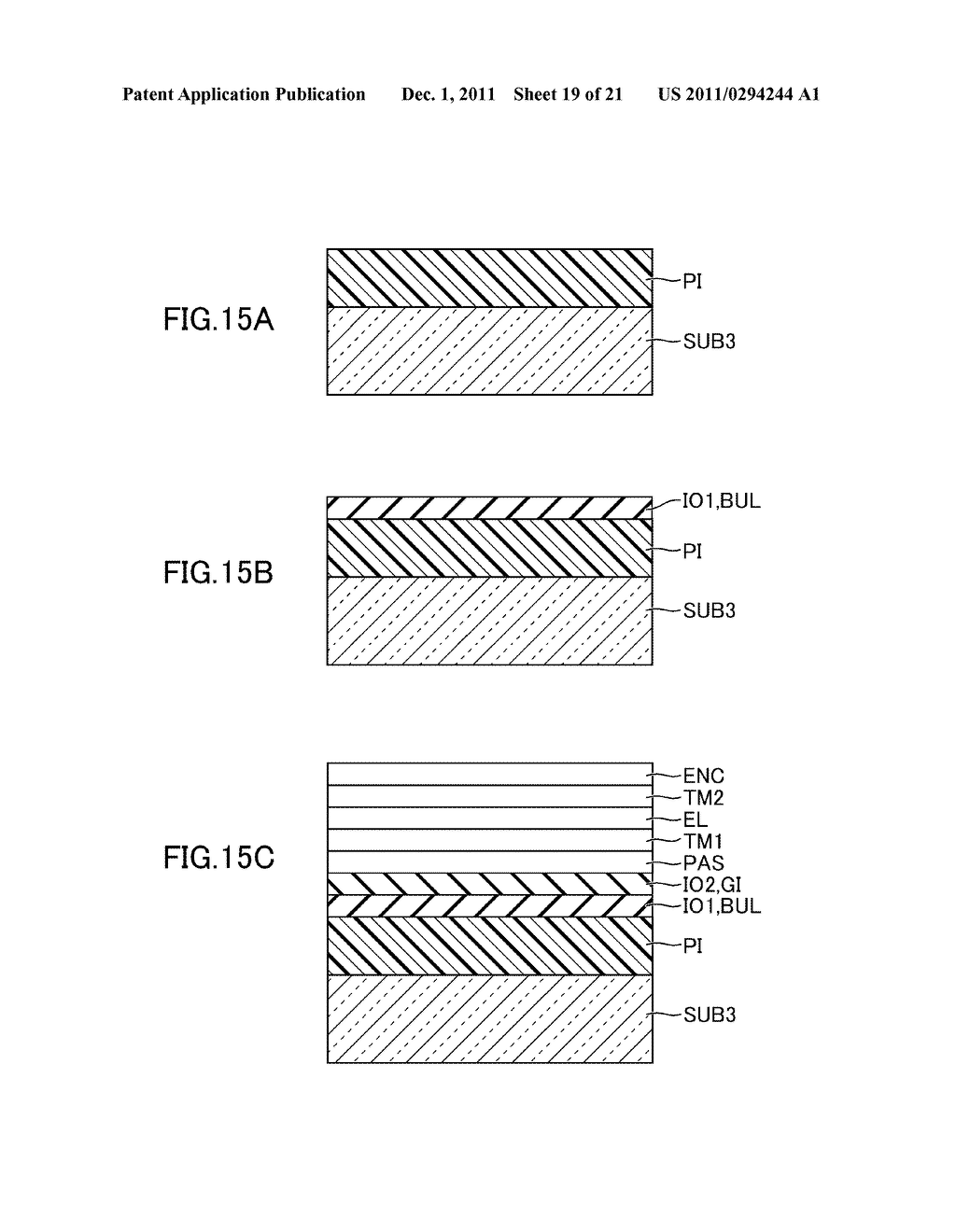 METHOD FOR MANUFACTURING DISPLAY DEVICE - diagram, schematic, and image 20