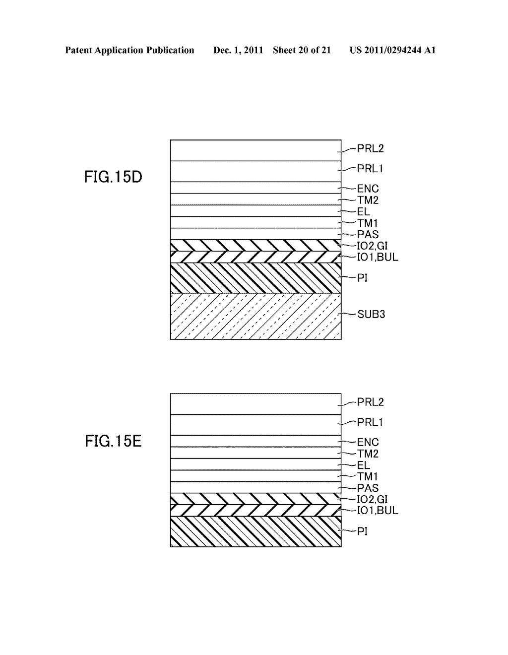 METHOD FOR MANUFACTURING DISPLAY DEVICE - diagram, schematic, and image 21