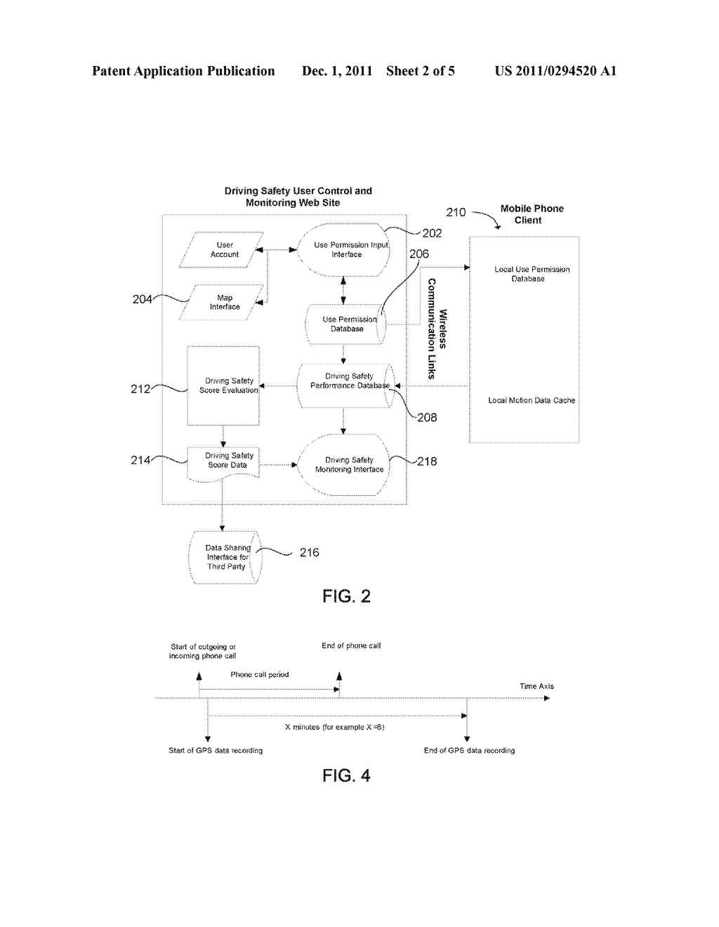 System and Method for Preventing Cell Phone Use While Driving - diagram, schematic, and image 03