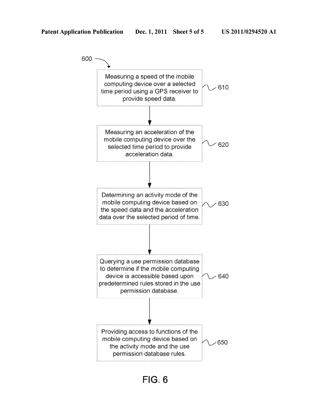 System and Method for Preventing Cell Phone Use While Driving - diagram, schematic, and image 06