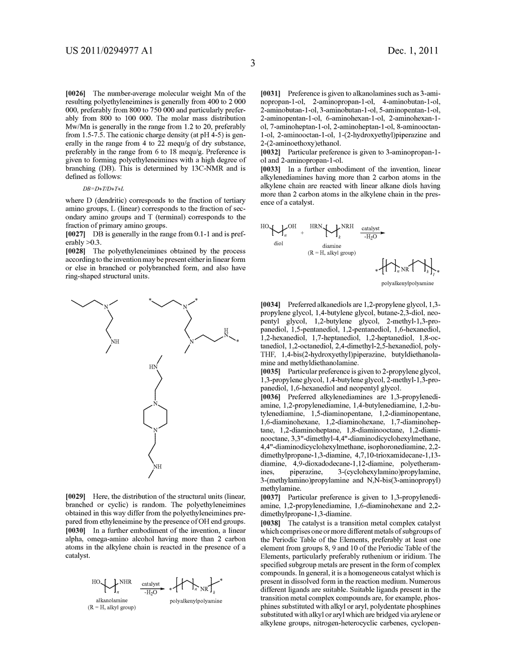 POLYALKYLENEPOLYAMINES BY HOMOGENEOUSLY CATALYZED ALCOHOL AMINATION - diagram, schematic, and image 04