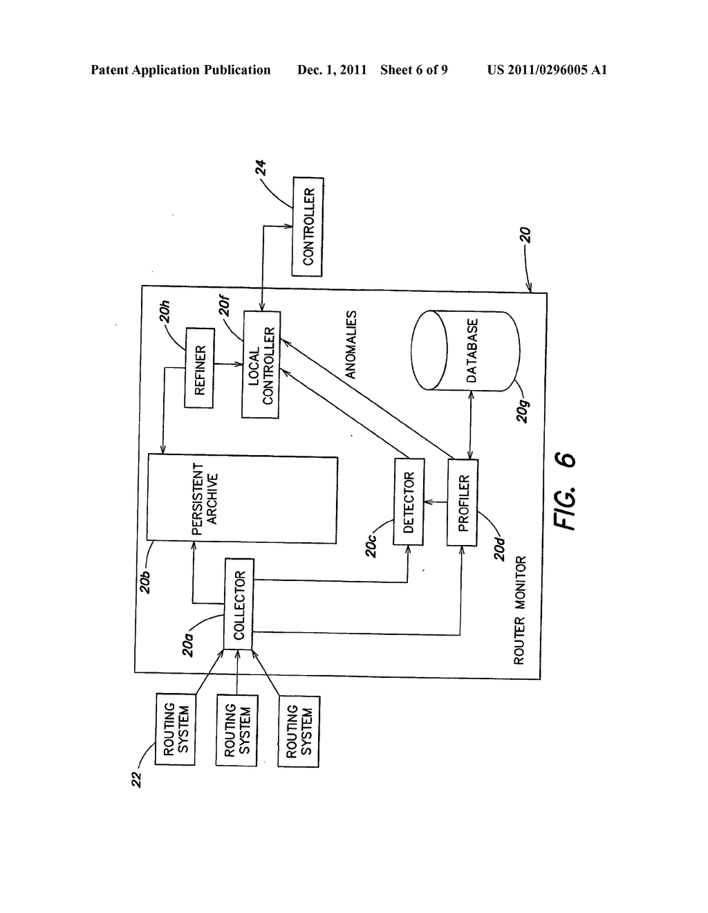 Method and system for monitoring control signal traffic over a computer     network - diagram, schematic, and image 07