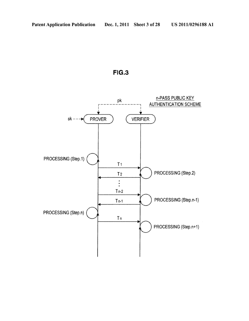 AUTHENTICATION DEVICE, AUTHENTICATION METHOD, PROGRAM, AND SIGNATURE     GENERATION DEVICE - diagram, schematic, and image 04