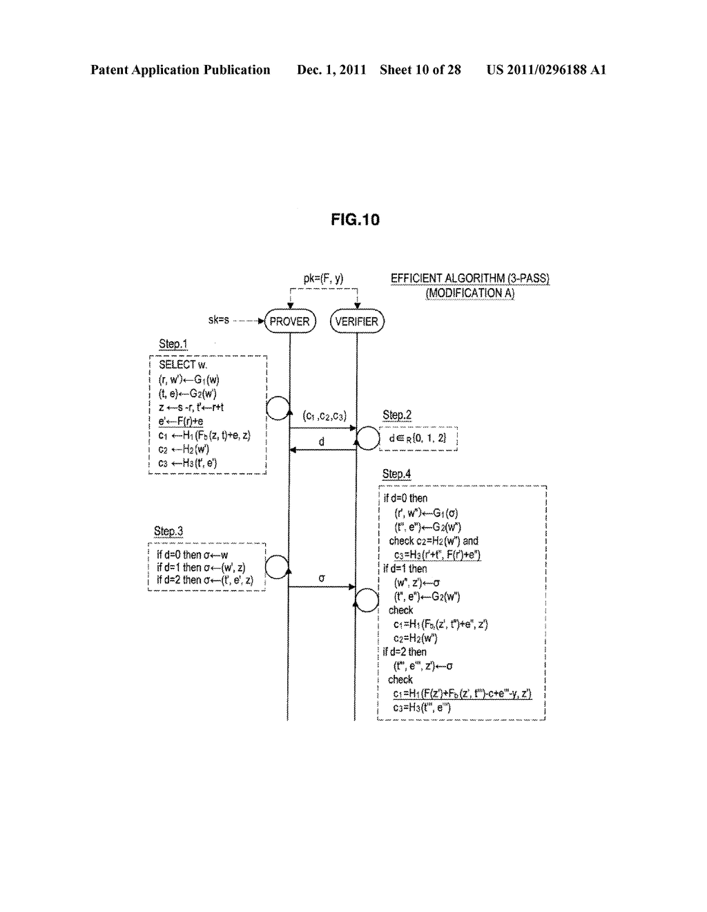 AUTHENTICATION DEVICE, AUTHENTICATION METHOD, PROGRAM, AND SIGNATURE     GENERATION DEVICE - diagram, schematic, and image 11