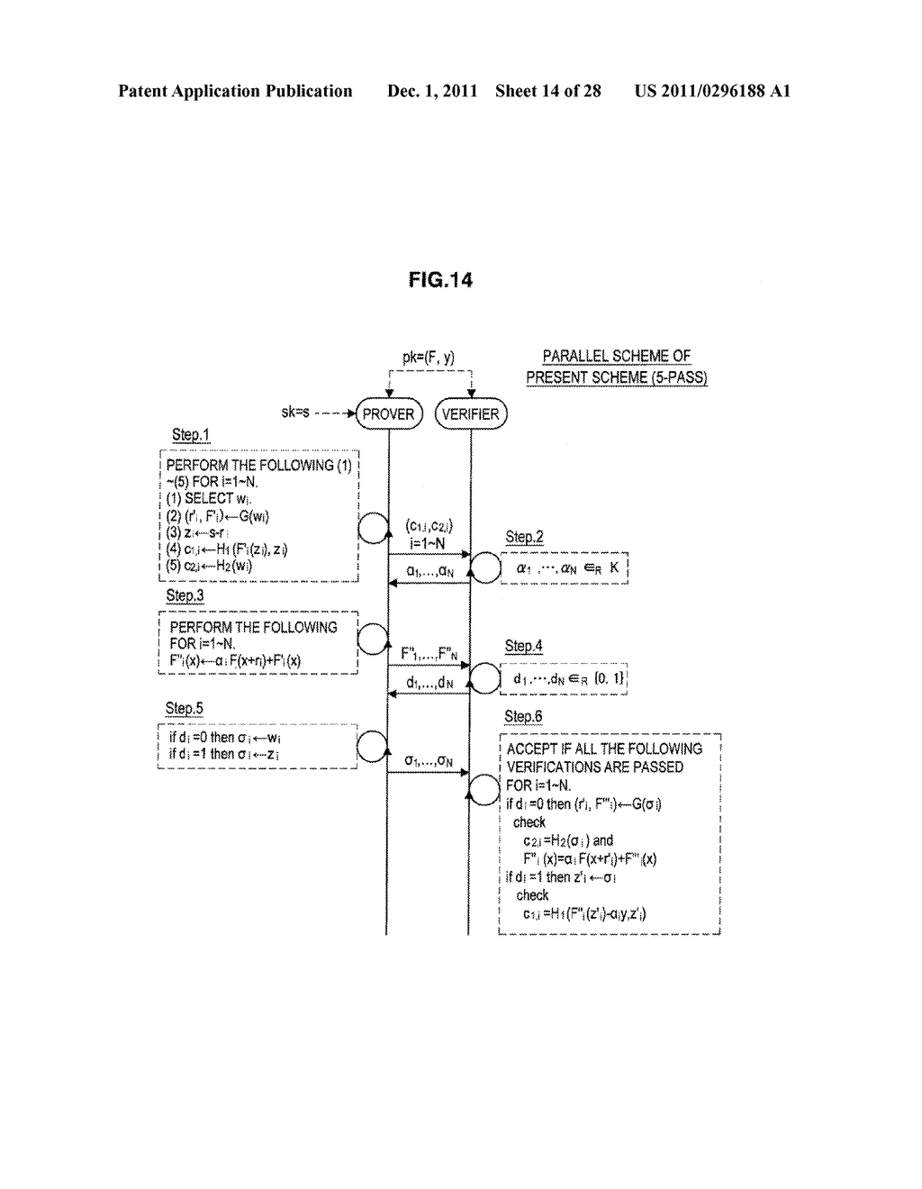 AUTHENTICATION DEVICE, AUTHENTICATION METHOD, PROGRAM, AND SIGNATURE     GENERATION DEVICE - diagram, schematic, and image 15