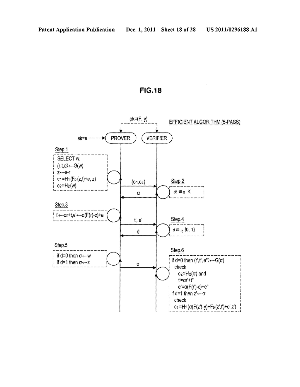 AUTHENTICATION DEVICE, AUTHENTICATION METHOD, PROGRAM, AND SIGNATURE     GENERATION DEVICE - diagram, schematic, and image 19