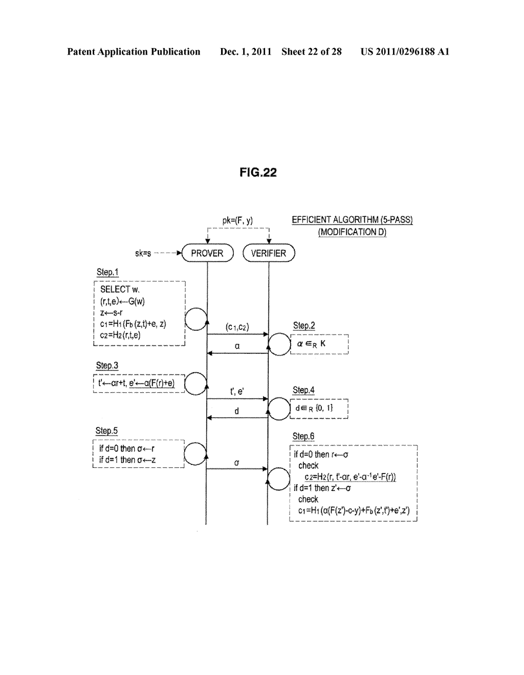 AUTHENTICATION DEVICE, AUTHENTICATION METHOD, PROGRAM, AND SIGNATURE     GENERATION DEVICE - diagram, schematic, and image 23