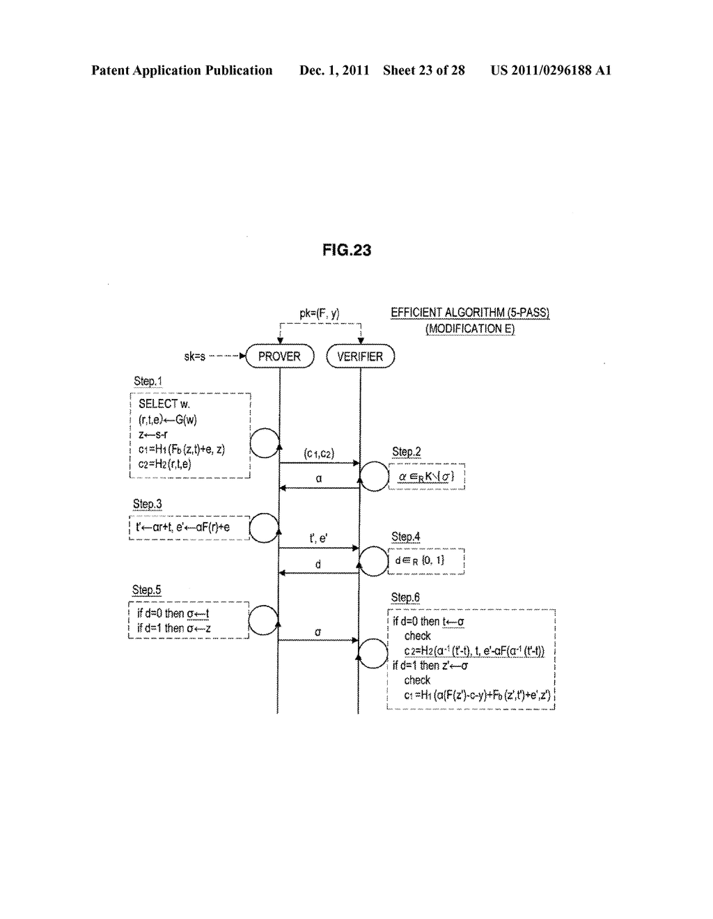 AUTHENTICATION DEVICE, AUTHENTICATION METHOD, PROGRAM, AND SIGNATURE     GENERATION DEVICE - diagram, schematic, and image 24