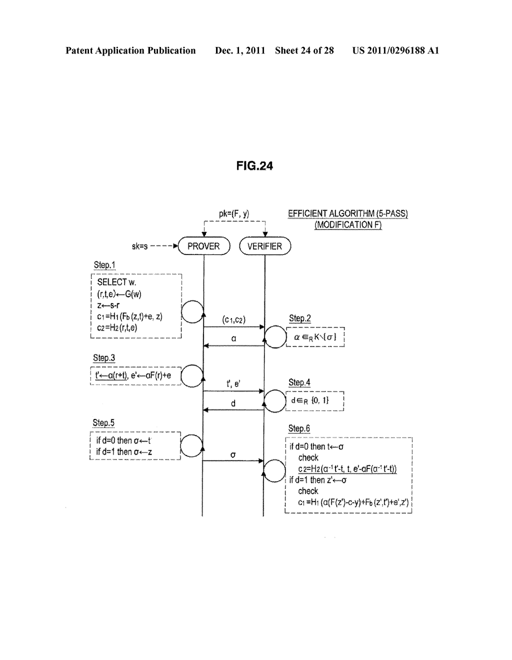 AUTHENTICATION DEVICE, AUTHENTICATION METHOD, PROGRAM, AND SIGNATURE     GENERATION DEVICE - diagram, schematic, and image 25