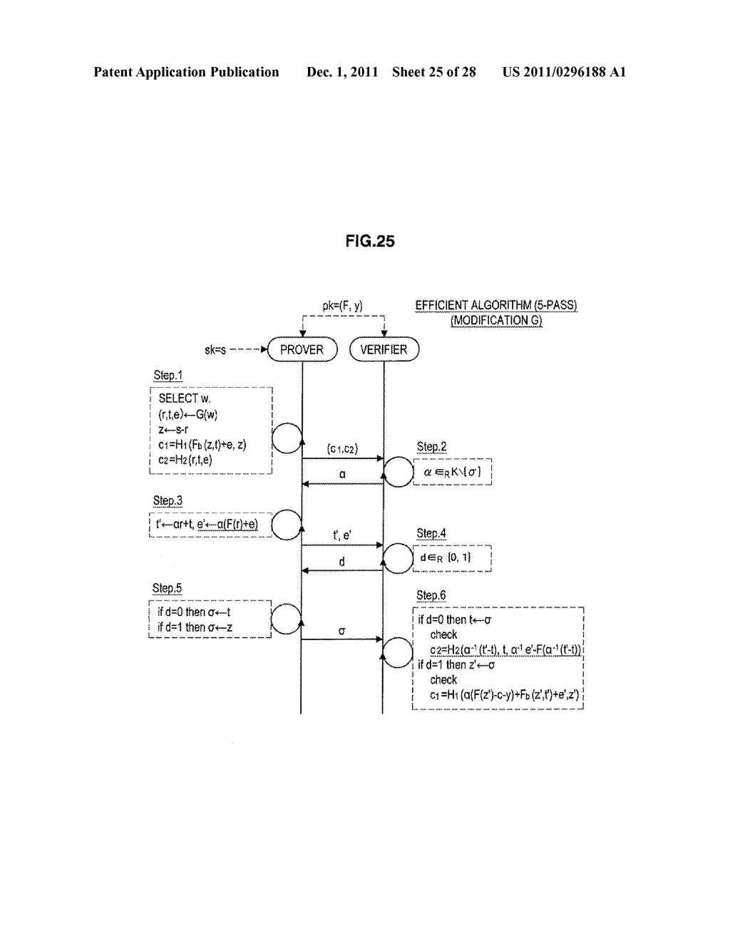 AUTHENTICATION DEVICE, AUTHENTICATION METHOD, PROGRAM, AND SIGNATURE     GENERATION DEVICE - diagram, schematic, and image 26