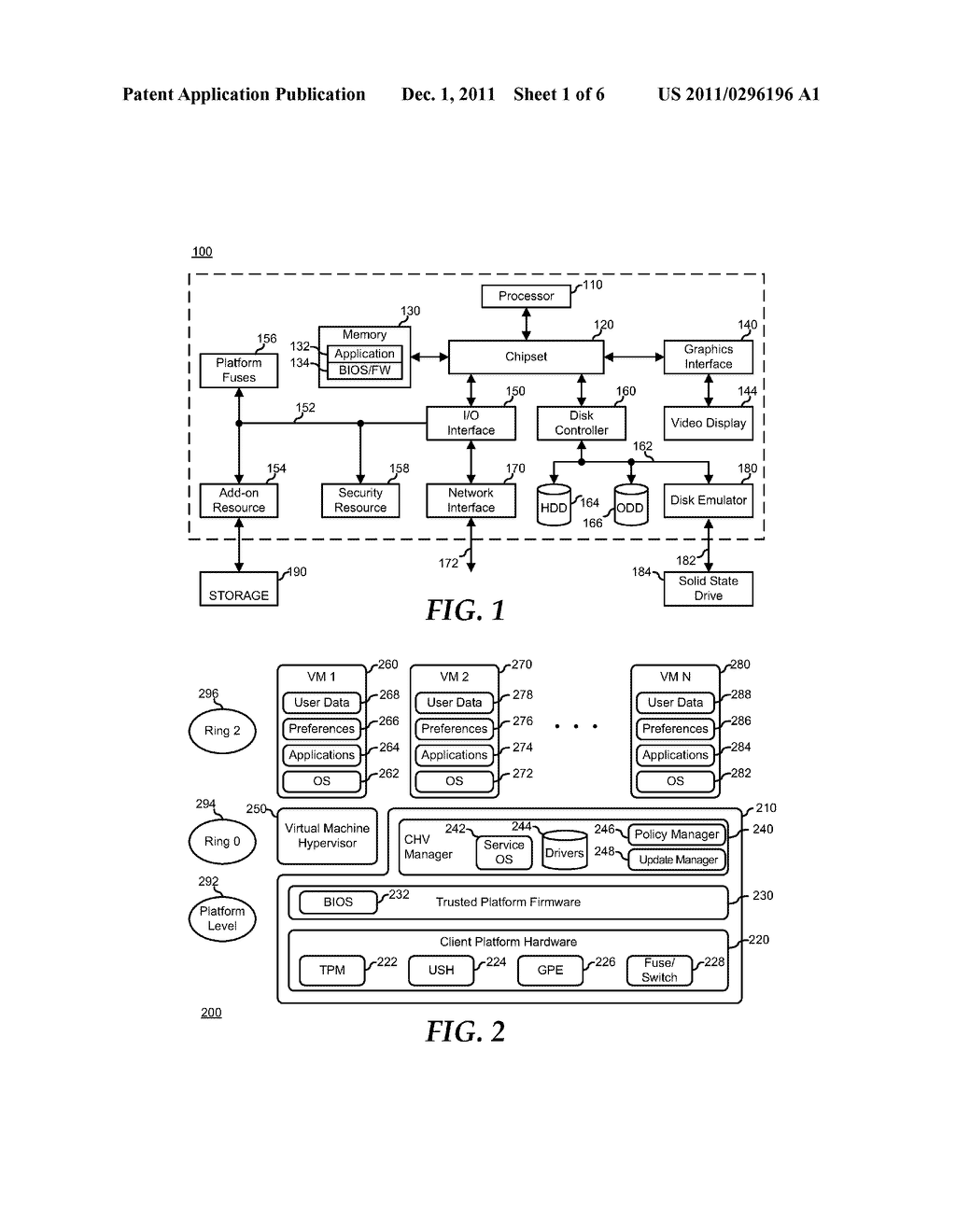 System and Method for Supporting Task Oriented Devices in a Client Hosted     Virtualization System - diagram, schematic, and image 02