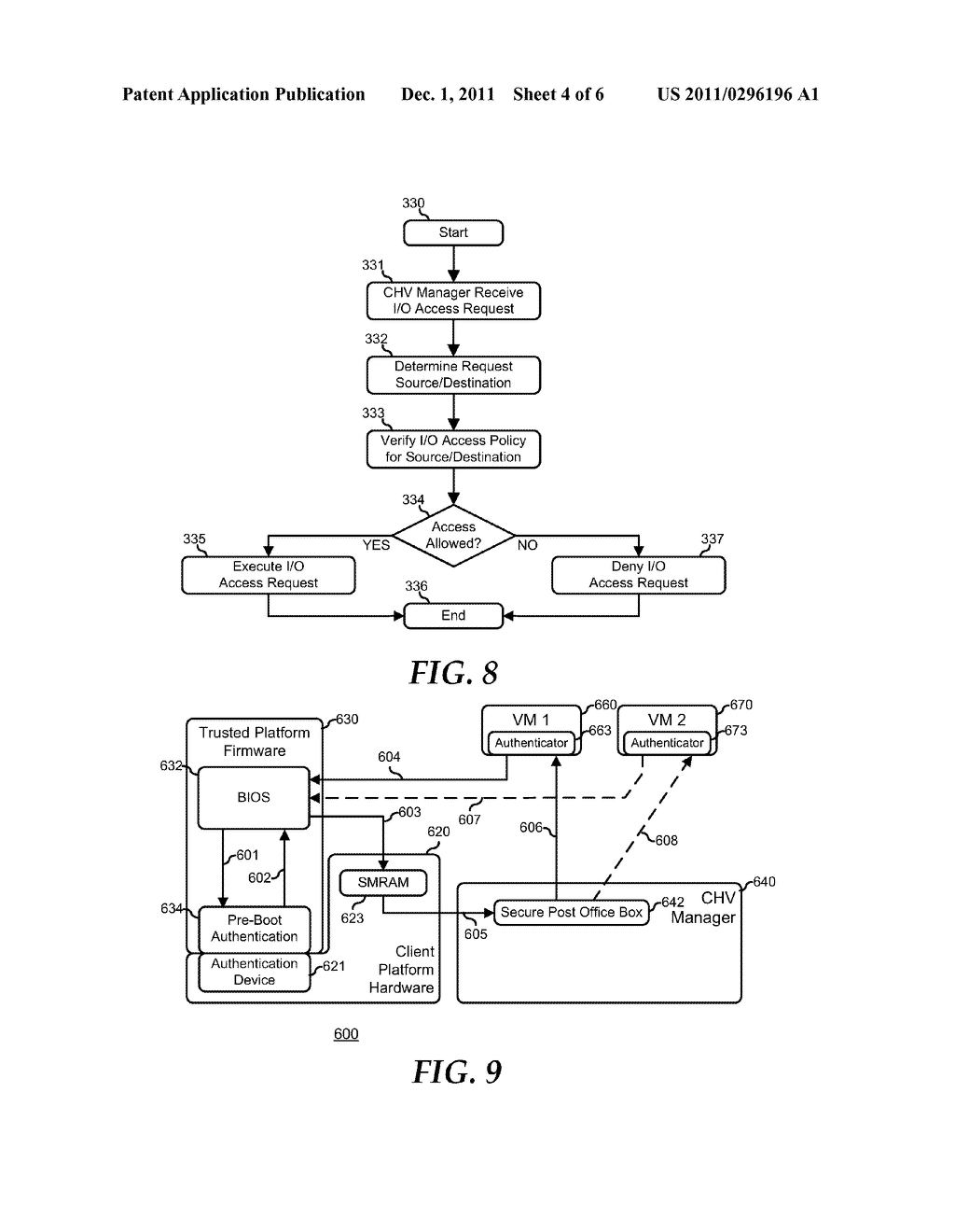 System and Method for Supporting Task Oriented Devices in a Client Hosted     Virtualization System - diagram, schematic, and image 05