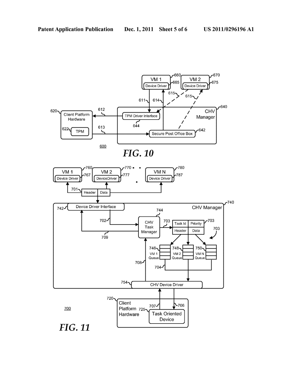System and Method for Supporting Task Oriented Devices in a Client Hosted     Virtualization System - diagram, schematic, and image 06