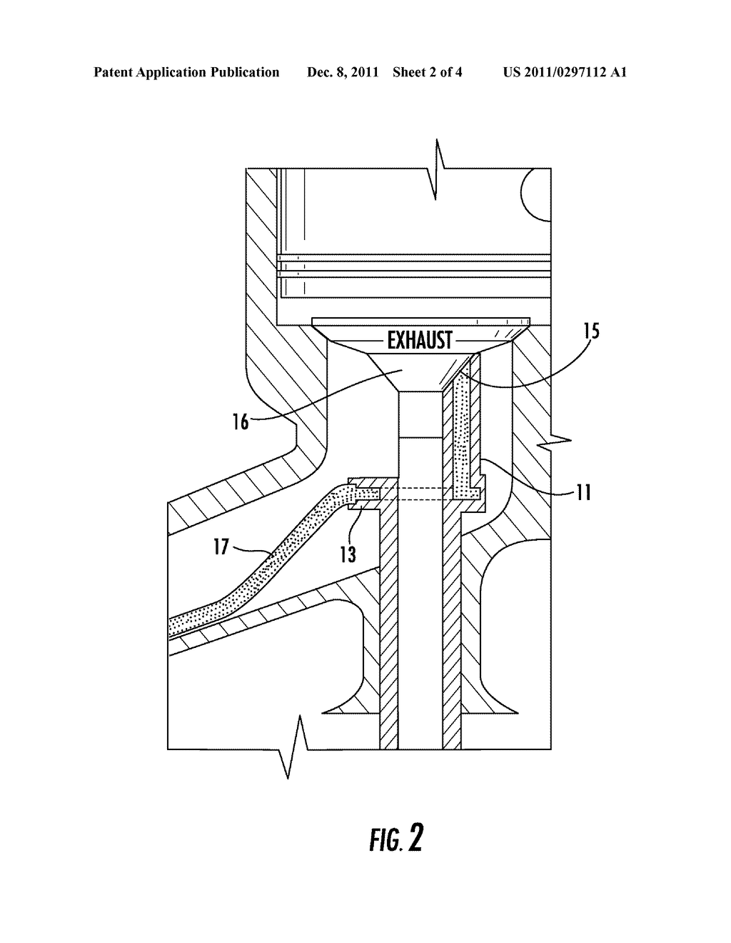 Forced Air Valve Guide For An Internal Combustion Engine Diagram Schematic And Image 03