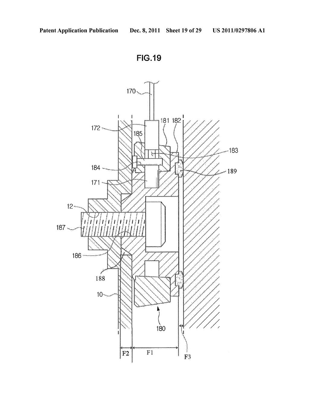 SUPPORTING DEVICE FOR DISPLAY APPARATUS - diagram, schematic, and image 20